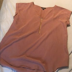 NWOT Express blush blouse